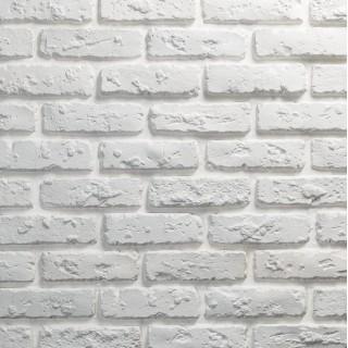 Цегла антична біла (гіпсова)