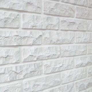 Цегла мармурова біла